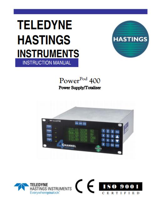 THPS-400 Manual