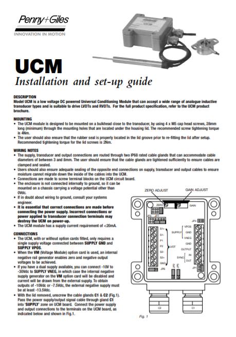 UCM Manual