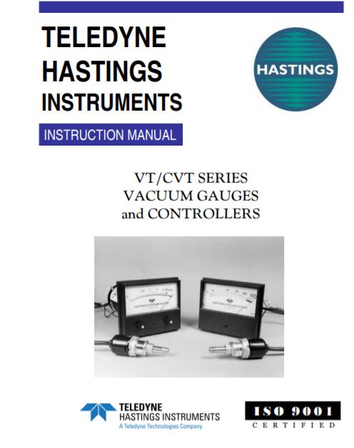 Analog VT-CVT Manual