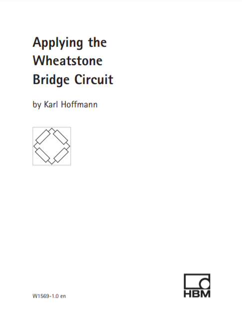 Wheatstone Bridge Circuits Applied In Signal Conditioning