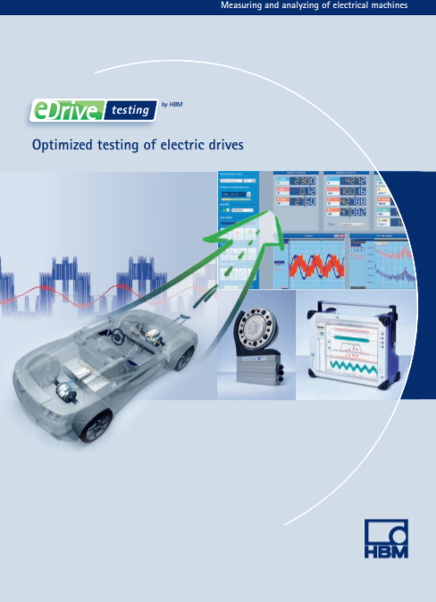 eDrive Testing – Optimized Testing of Electric Drives