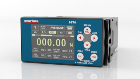 9870 High Performance Digital Indicator with TEDS